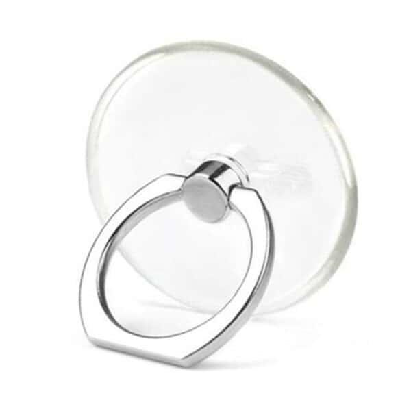 Pruhledný Ring držák mobilu na prst