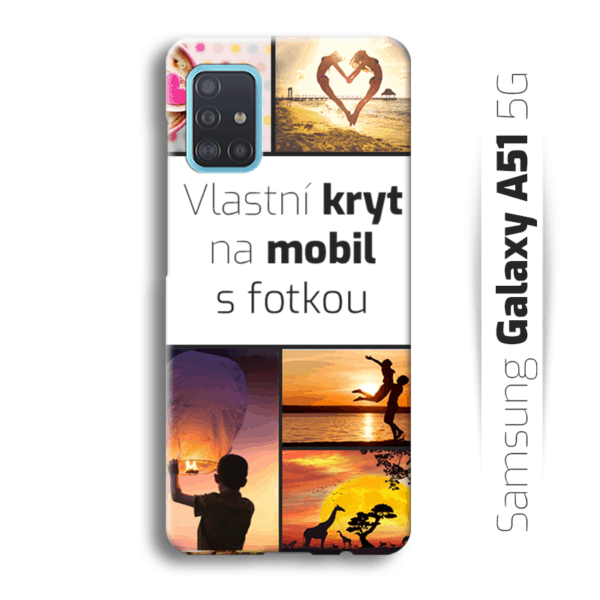 Vlastní kryt na mobil Samsung Galaxy A51 5G