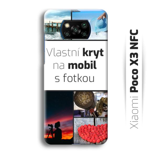 Vlastní kryt na mobil Xiaomi POCO X3 NFC