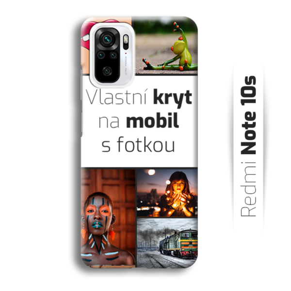 Vlastní kryt na mobil Xiaomi Redmi Note 10s