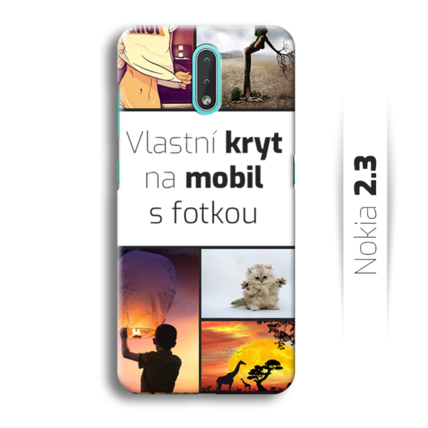 Vlastní kryt na mobil Nokia 2.3