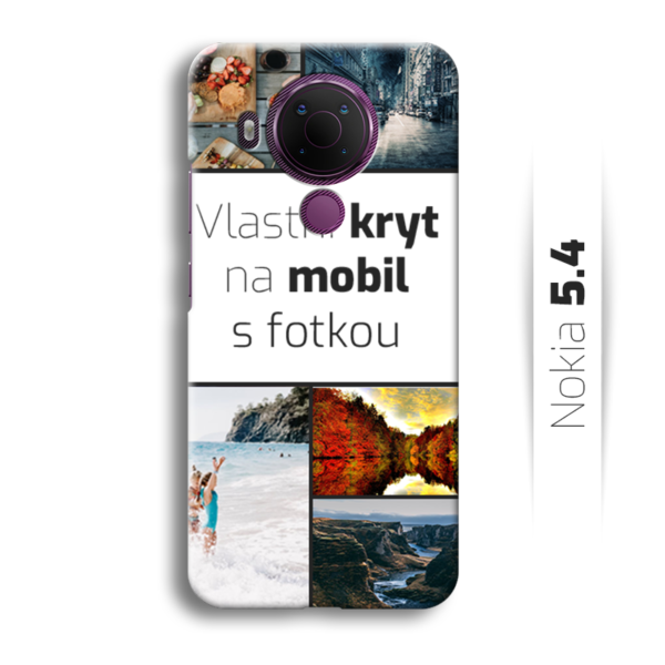 Vlastní kryt na mobil Nokia 5.4