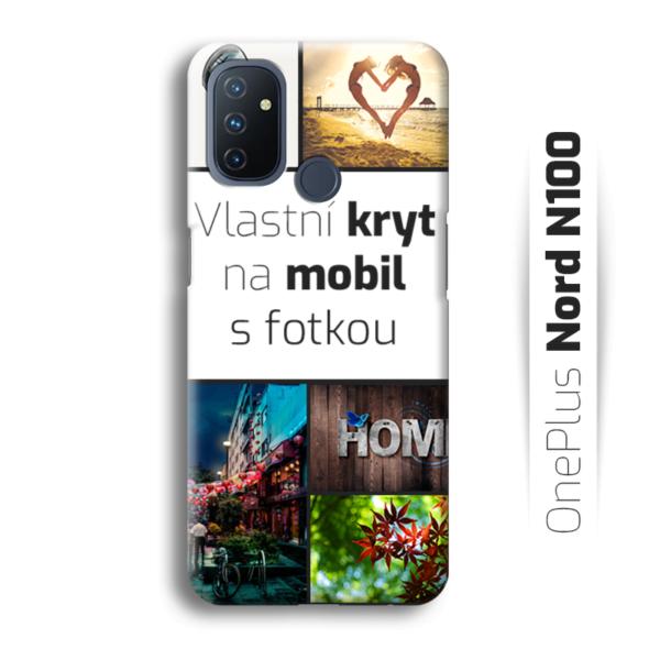 Vlastní kryt na mobil OnePlus Nord N100