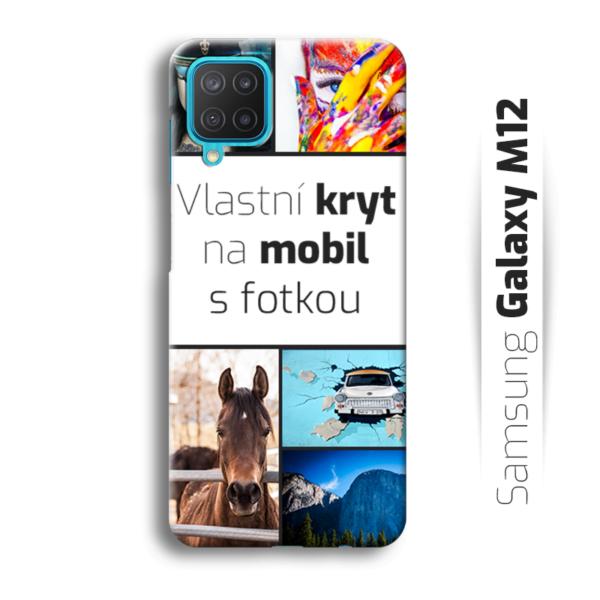 Vlastní kryt na mobil Samsung Galaxy M12