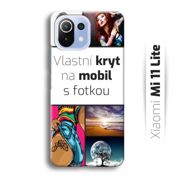 Vlastní kryt na mobil Xiaomi Mi 11 Lite